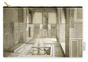 Cairo Mandarah Reception Room, Ground Carry-all Pouch