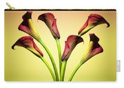 Cala Lily 6 Carry-all Pouch