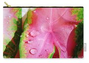 Caladium Leaf Carry-all Pouch