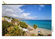 Calahonda Beach In Nerja Carry-all Pouch