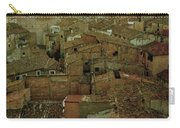 Calahorra Roofs From The Bell Tower Of Saint Andrew Church Carry-all Pouch