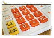 Calculator Carry-all Pouch by Les Cunliffe