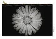 Calendula Flower - Textured Version Carry-all Pouch