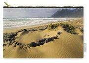 Caleta De Famara Beach On Lanzarote Carry-all Pouch