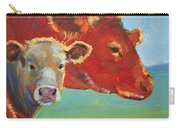 Calf And Cow Painting Carry-all Pouch