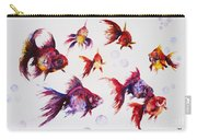 Calico Ryukin Goldfish Carry-all Pouch