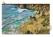 Californa Shore Carry-all Pouch by Benjamin Yeager