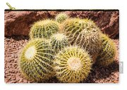 California Barrel Cactus Carry-all Pouch