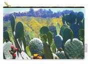 California Big Sur Flowers Carry-all Pouch