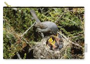 California Gnatcatcher Feeding Young Carry-all Pouch