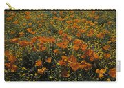 California Gold Poppies Carry-all Pouch