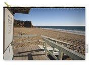 California Lifeguard Shack At Zuma Beach Carry-all Pouch