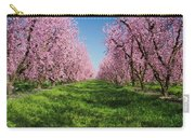 California Peach Tree Orchard  Carry-all Pouch