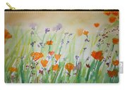 California Poppies Carry-all Pouch