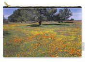 California Poppy And Eriophyllum Carry-all Pouch