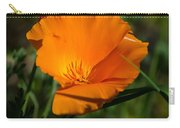 California Poppy Carry-all Pouch