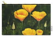 California Poppy Carry-all Pouch by Veikko Suikkanen