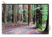 California Redwoods 3 Carry-all Pouch