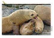 California Sea Lions Carry-all Pouch