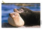 California Sea Lions Carry-all Pouch by Mark Newman