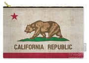 California State Flag Carry-all Pouch by Pixel Chimp