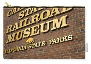 California State Railroad Museum Carry-all Pouch