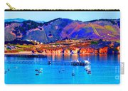 California Sunset Colors - Avila Pier Carry-all Pouch