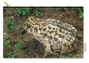 California Toad Bufo Boreas Halophilus Carry-all Pouch