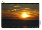 California Winter Sunset Carry-all Pouch