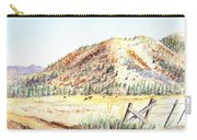 Californian Landscape Saint John Ranch Bald Mountain View Shasta County Carry-all Pouch