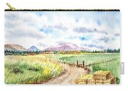 Californian Landscape Saint Johns Ranch Of Mountain Shasta County Carry-all Pouch