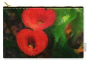 Calla Lilies Photo Art 03 Carry-all Pouch by Thomas Woolworth