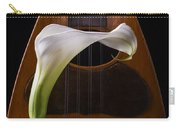 Calla Lily And Mandolin Carry-all Pouch