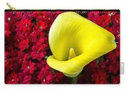 Calla Lily In Red Kalanchoe Carry-all Pouch