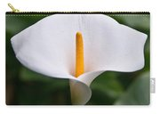 Calla Lily Laterally Expanded Carry-all Pouch