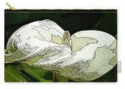 Calla Lily Sketch Carry-all Pouch