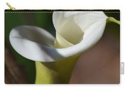 Calla Lily Swirl Carry-all Pouch