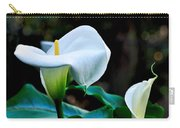 Calla Lily - Zantedeschia Aethiopica Carry-all Pouch