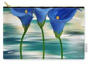 Calla Trio- Calla Lily Paintings Carry-all Pouch