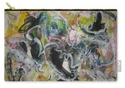Calligraphy Abstract 03 Carry-all Pouch