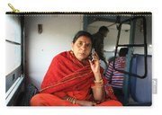Calling From The Train Carry-all Pouch