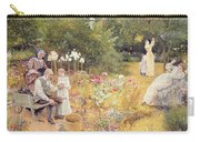 Calling The Bees Carry-all Pouch by Edward Killingworth Johnson