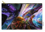 Calming Madness Abstract Carry-all Pouch