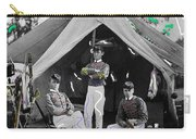 Calvary Troopers On Bivouac Tent Date Unknown Image Restored Color Added 2008  Carry-all Pouch