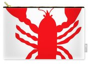 Camden Maine Lobster With Feelers 20150207 Carry-all Pouch