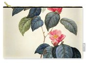 Camellia Japonica Carry-all Pouch by Pierre Joseph Redoute