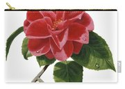 Camellia Carry-all Pouch by Richard Harpum