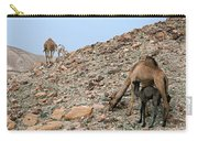Camels At The Israel Desert -1 Carry-all Pouch