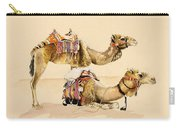 Camels From Petra Carry-all Pouch