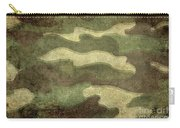 Camo Distressed Hard Version Carry-all Pouch